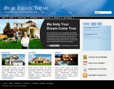 ireal-real-estate-wordpress-theme
