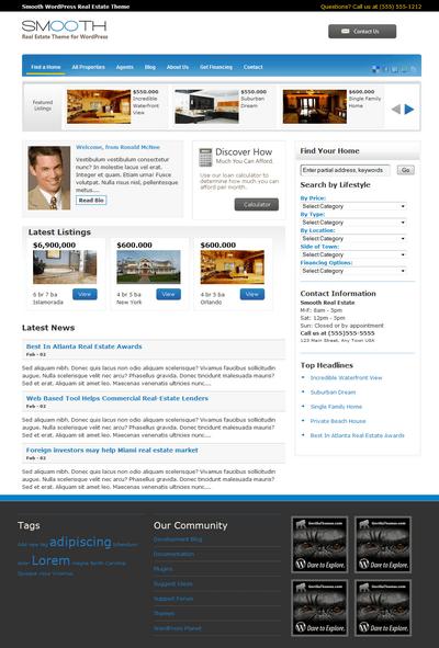 smooth-real-estate-wordpress-theme