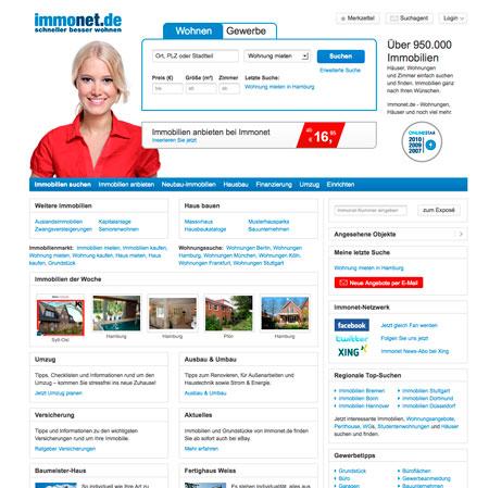 Immonet Relaunch - Immobilienportale.com  Immonet Relaunc...